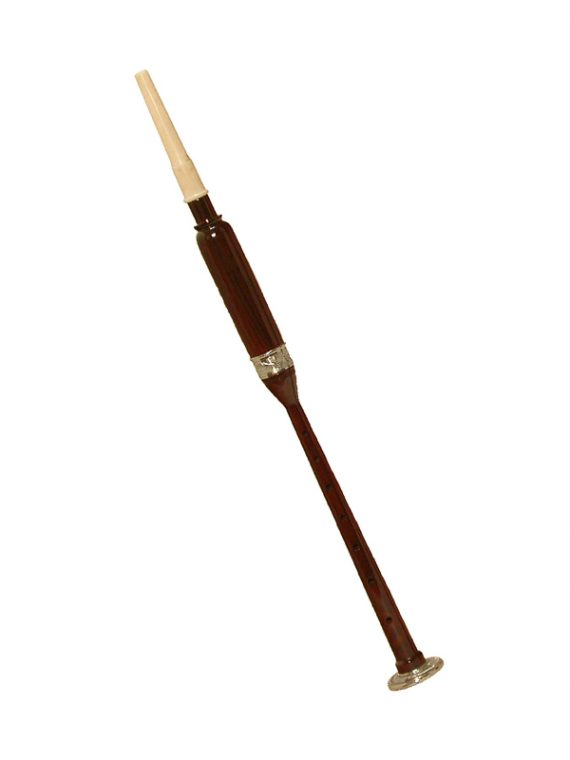 ROSEWOOD PRACTICE CHANTER NICKEL PLATED FERRULE & SOLE 19-INCH