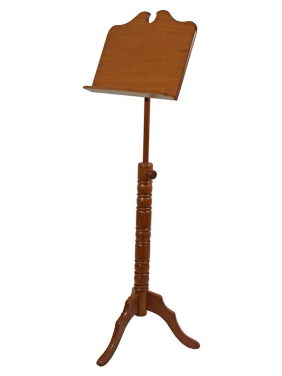 SINGLE TRAY BOSTON MUSIC STAND – RED CEDAR