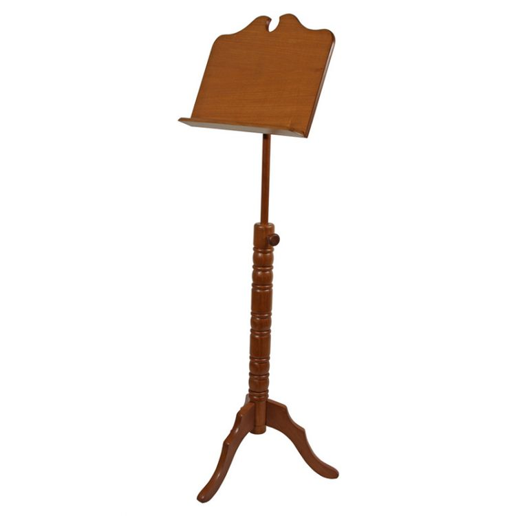 SINGLE TRAY BOSTON MUSIC STAND - RED CEDAR