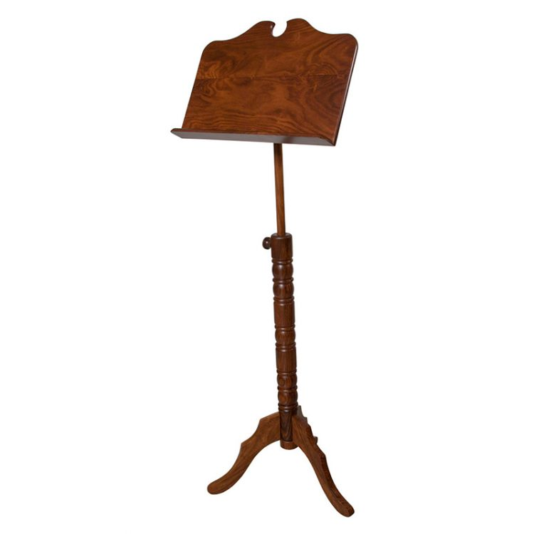 SINGLE TRAY BOSTON MUSIC STAND ROSEWOOD