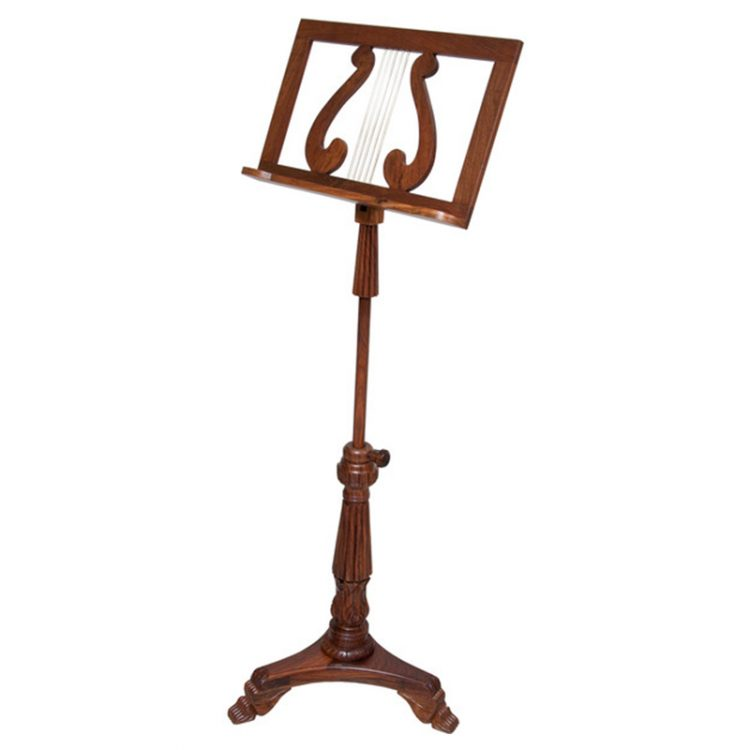 SINGLE TRAY KING ALBERT MUSIC STAND ROSEWOOD