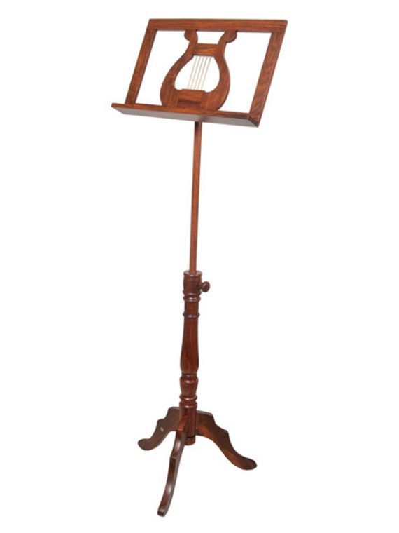 SINGLE TRAY REGENCY MUSIC STAND ROSEWOOD