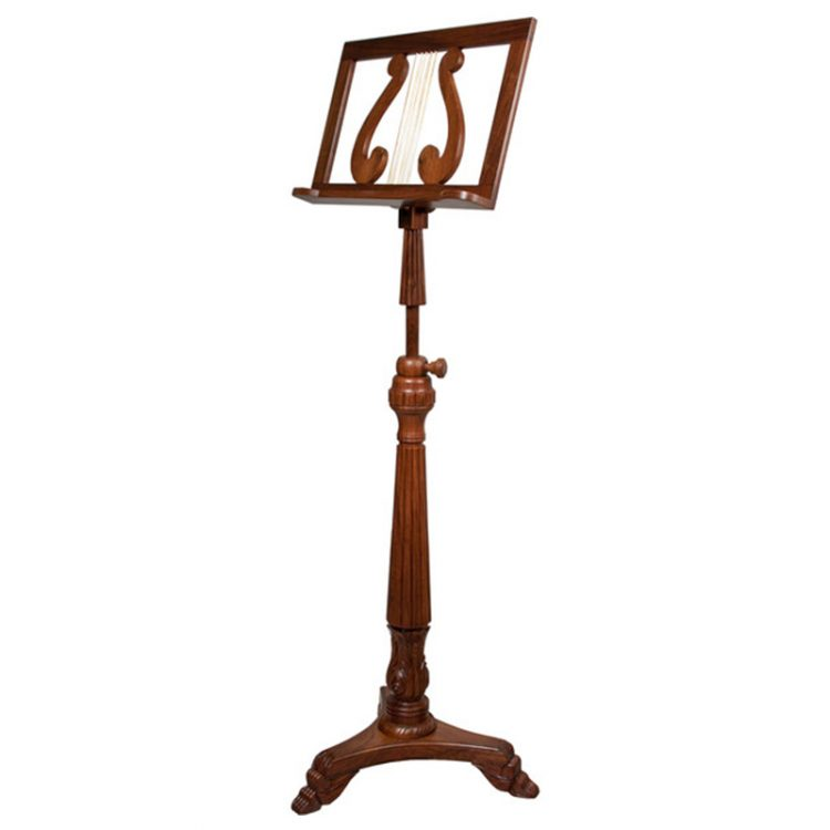SINGLE TRAY VICTORIA MUSIC STAND ROSEWOOD