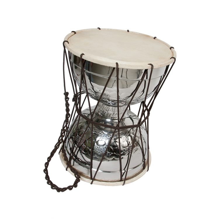TALKING DRUM WITH BEATER 10-BY-13-INCH