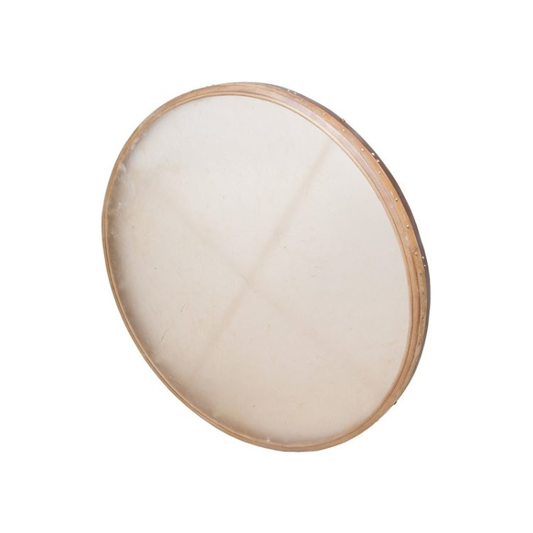 TUNABLE GOATSKIN HEAD WOODEN FRAME DRUM 38-BY-2.25-INCH