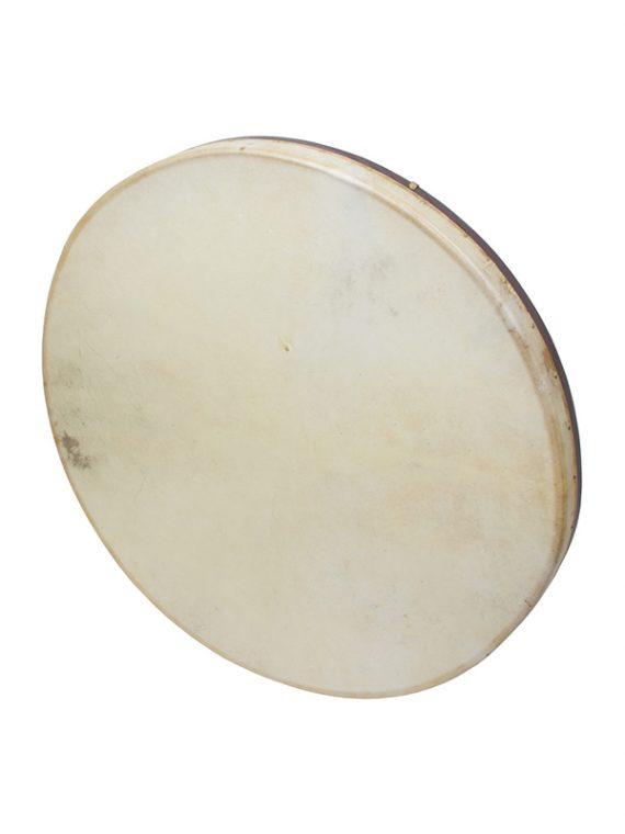 TUNABLE GOATSKIN HEAD WOODEN FRAME DRUM WITH BEATER 30-BY-2-INCH