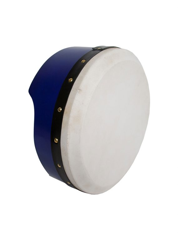 TUNABLE PLY BODHRAN 13-BY-5-INCH – BLUE