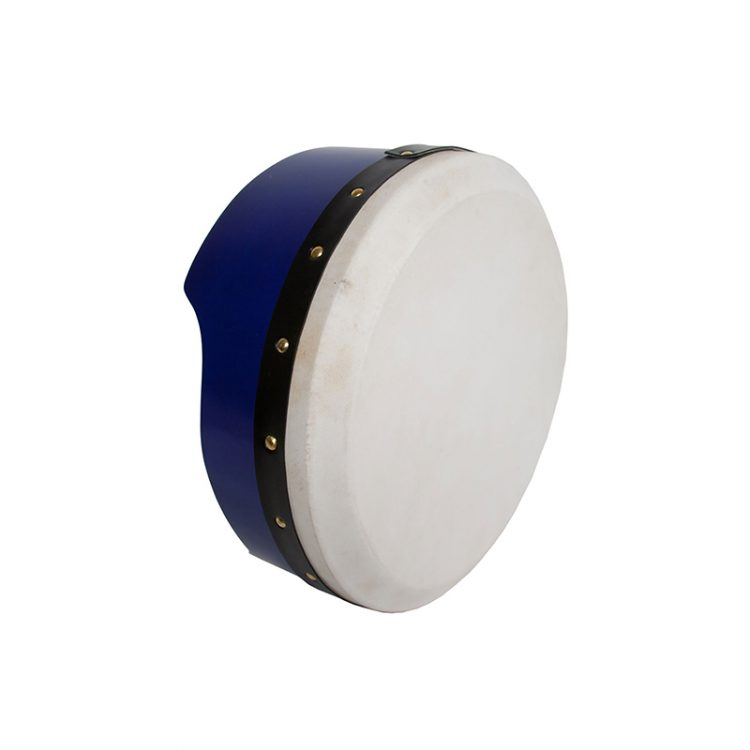 TUNABLE PLY BODHRAN 13-BY-5-INCH - BLUE
