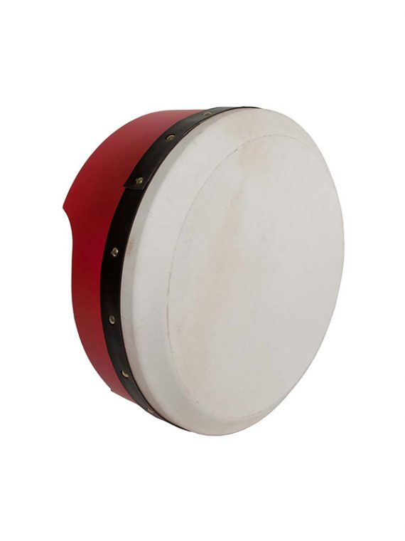 TUNABLE PLY BODHRAN 13-BY-5-INCH – RED