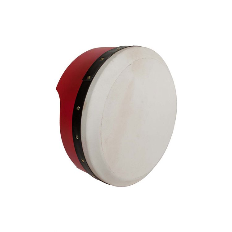TUNABLE PLY BODHRAN 13-BY-5-INCH - RED