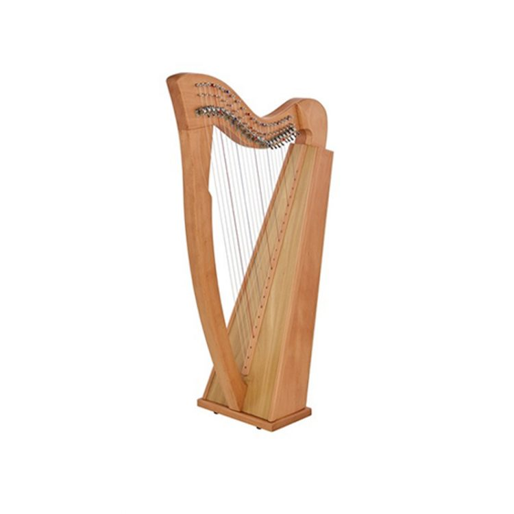 mideast 22 String Sequre Back Ever Harp New-Cam Levers Beech Wood
