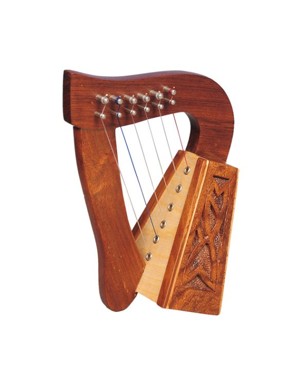 Mid east 6 strings harp