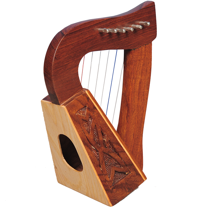 Mid-east Mini harp rosewood