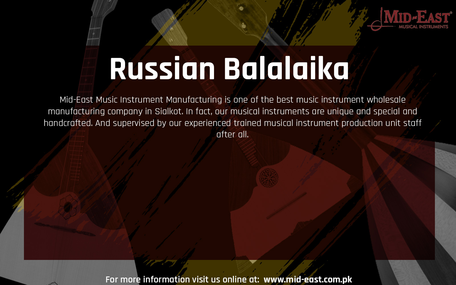 Best Russian Balalaika Wholesale