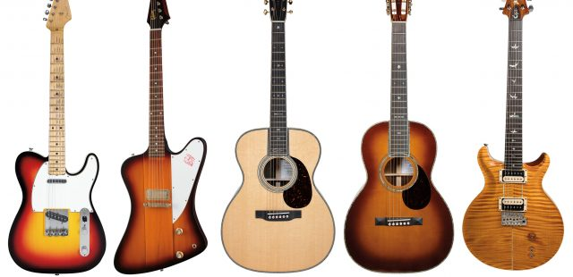 Most Popular Guitar in the Music Industry